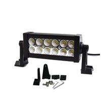 Darmowa wysyłka 36 W 7 cal LED Work Light Bar 12X3 w Reflektor led chip Powódź Wiązki ATV Offroad Światła Bar Dopasowanie zewnątrz światło