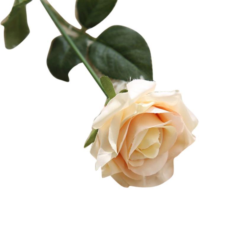 1PC Rose kunstlik lilled võltsitud lilled siidist lilled õie lateks - Pühad ja peod - Foto 2