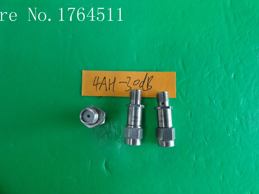 [BELLA] INMET 4AH-30dB DC-4GHz 30dB 2W SMA Coaxial Fixed Attenuator  --5PCS/LOT