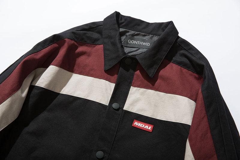 Color Block Coaches Jackets 8