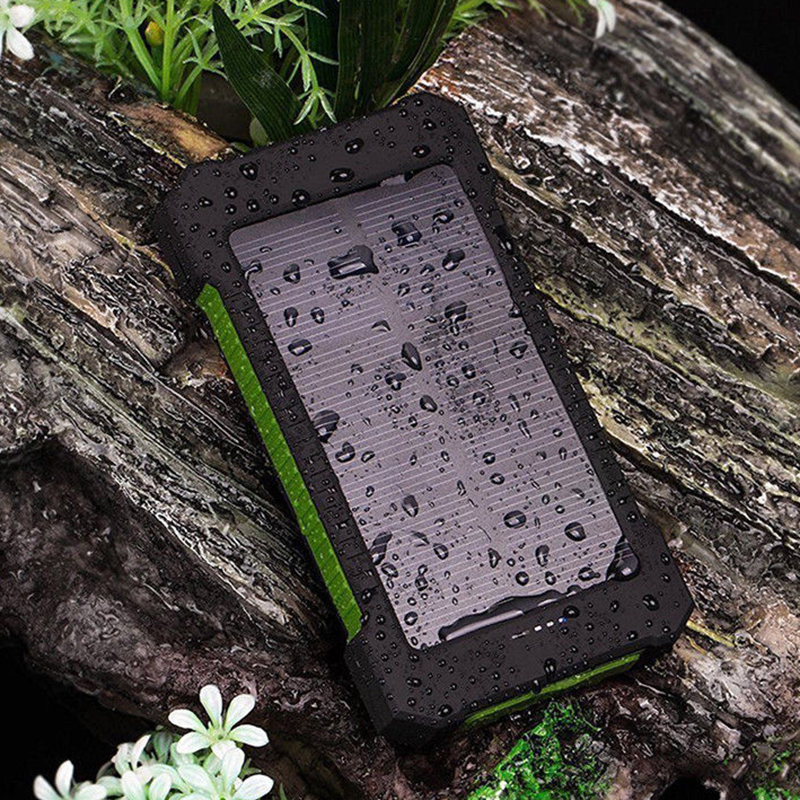 No Battery Solar Led 50000mah Power Bank Charger Case Kit 14.9cm X 7.4cm X 1.8cm Mobile Phone Adapters 1pcs Diy Waterproof Dual Usb