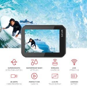 Image 2 - Original SJCAM SJ9 STRIKE 4K Action caméra écran tactile en direct Streaming gyroscope/EIS stabilisation étanche Sport DV