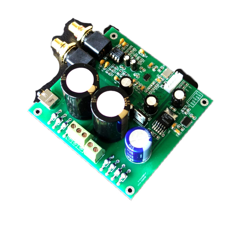ES9038Q2M ES9038 amplifier board I2S Input Decoder Board Mill Board DAC цена