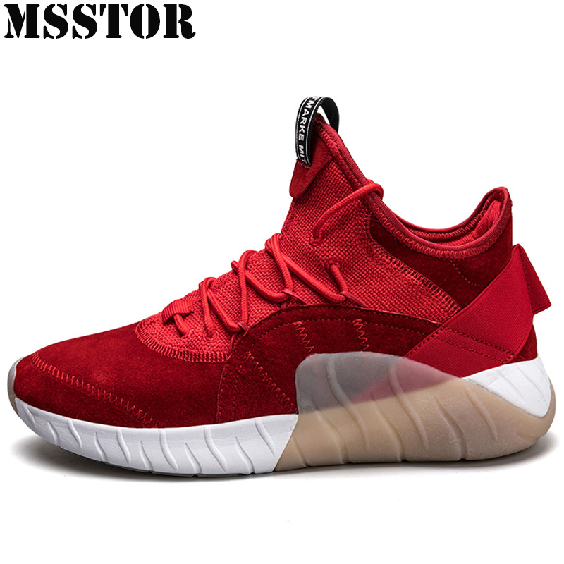 MSSTOR 2018 New Super Light Men Running Shoes Brand Outdoor Athletic Sports Run Breathable Men's Sneakers Sport Shoes For Men msstor women running shoes woman brand summer breathable sport shoes for men outdoor athletic lovers men running shoes sneakers