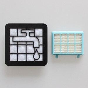 Image 4 - 15 Kits de filtres lavables en mousse pour moteur Philips alimentation Pro Compact FC9331/09FC9332/09 FC8010/01 aspirateur de rechange