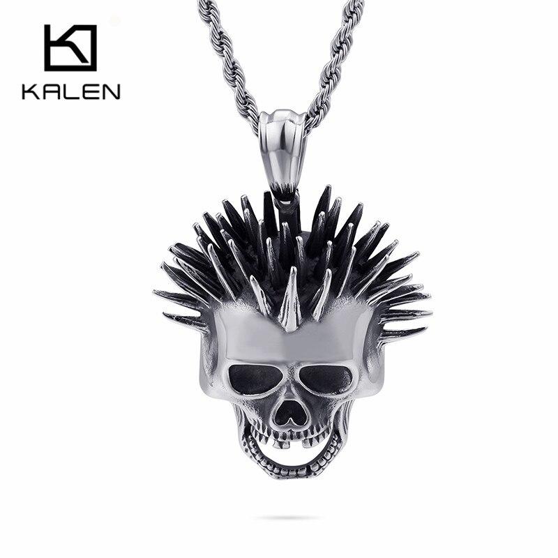 Skeleton Skull Choker Pendant Necklace Goth Punk Cross Vintage Tassel Satan Rock