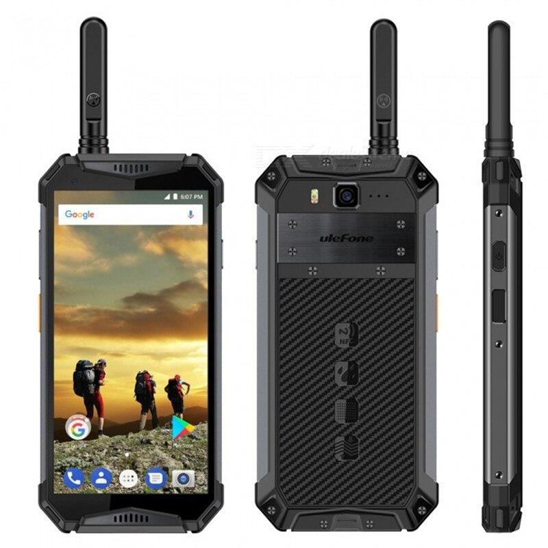 Téléphone portable étanche Ulefone Armor 3 T IP68 Android 8.1 5.7 pouces 21MP helio P23 Octa Core NFC 10300 mAh talkie-walkie Smartphone