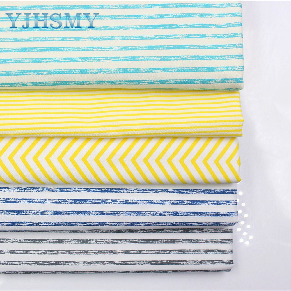 YJHSMY 177025, stripe cotton fabric,width 50 x160cm/pcs,DIY handmade crib bedding sets,pillows,tablecloths,baby bed linings