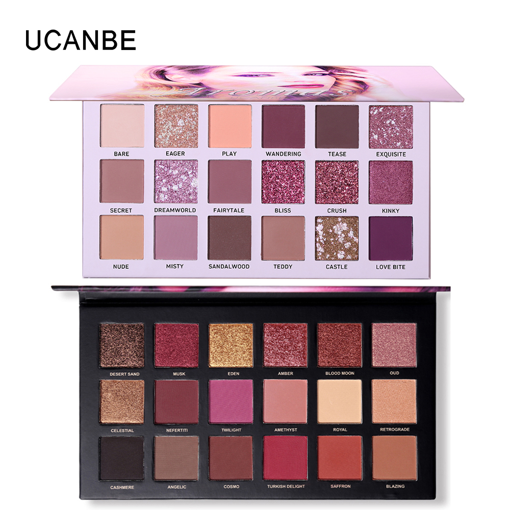 2Pcs Lot Ucanbe Brand Best Selling Eye Shadow Makeup Set -8085