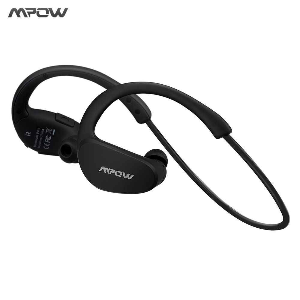 Mpow MBH6 Cheetah 4.1 Bluetooth Headset Headphones Wireless Headphone Microphone AptX Sport Earphone for iPhone Android Phone цена