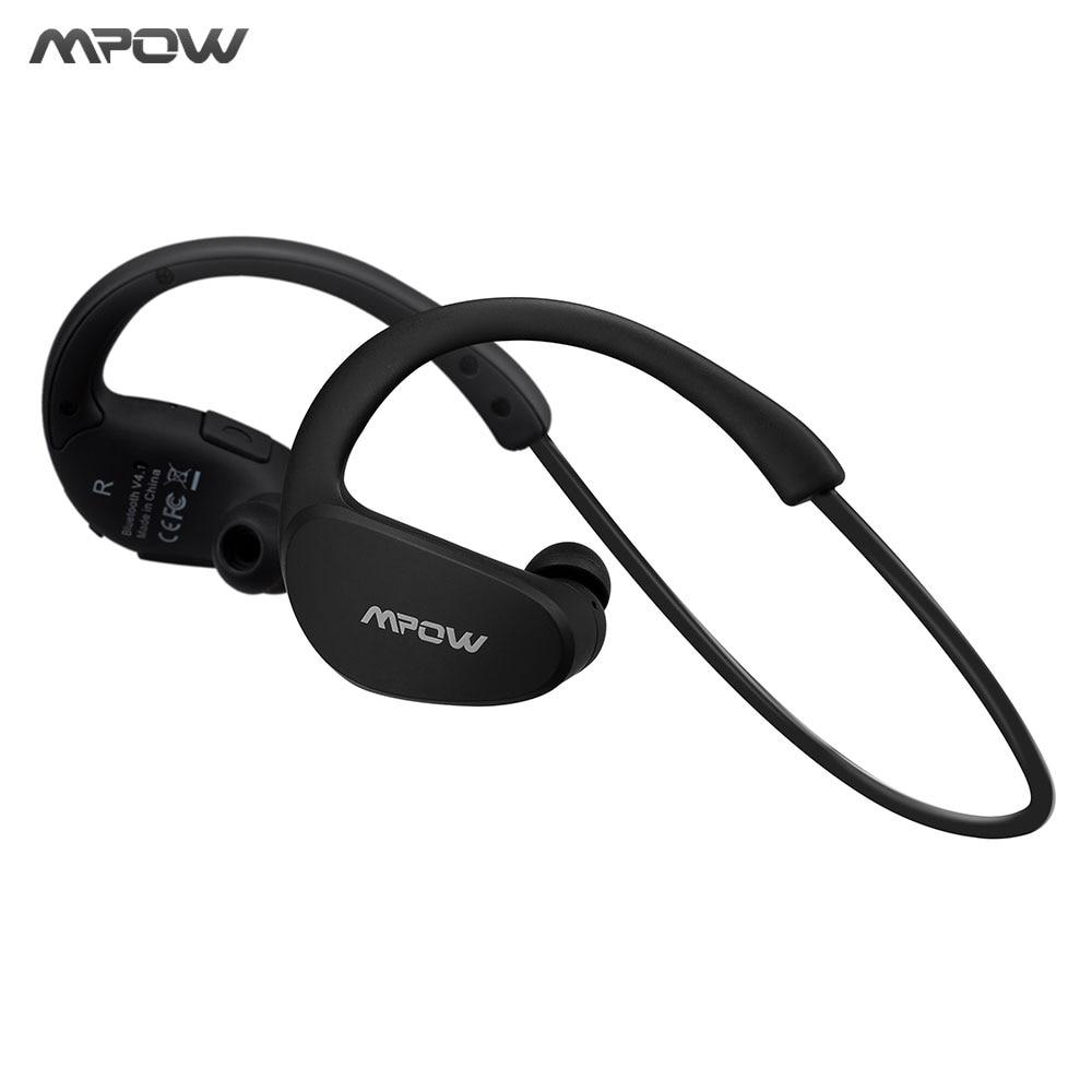 Mpow MBH6 Cheetah 4.1 Cuffie Auricolare Bluetooth Senza Fili Della Cuffia Microfono AptX Auricolare Sport per iPhone Android Phone