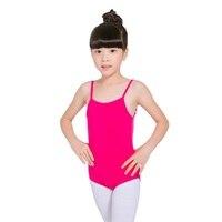 Children Ballet Dance Gymnastics Camisole Leotards Little Big Girls Unitards For Kids Toddlers Cotton Costume Warm
