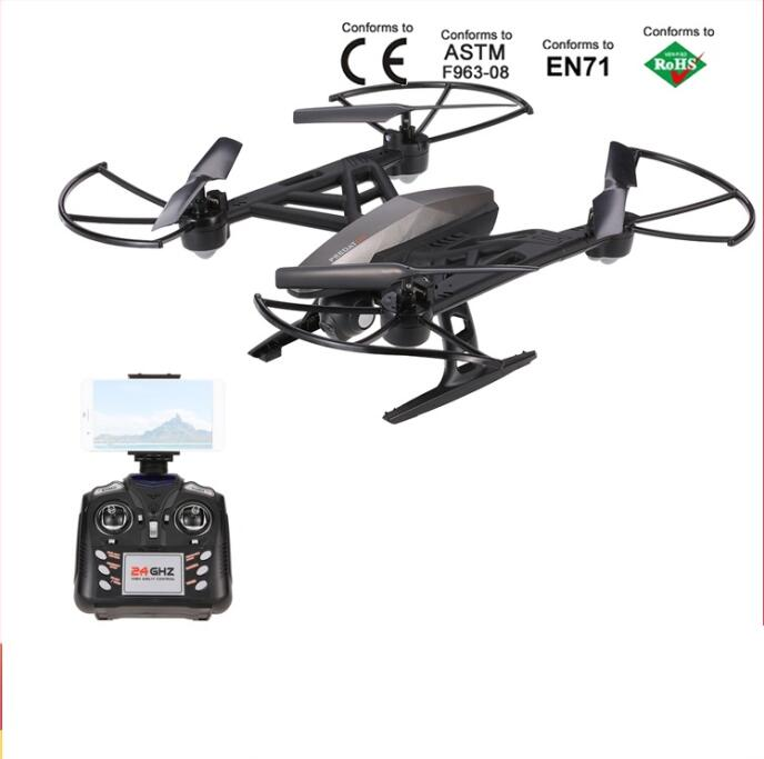 2017 NEW aerial RC Drone Quadcopter JXD516W HD Camera Wifi FPV 2.4G 4CH 6-axis Gyro Headless Mode RTF With Altitude Hold vs X5UC brand new rc drone with camera hd altitude hold mode 2 4g 4ch 6 axis rtf fpv rc remote control quadcopter toys vs syma x8 drone