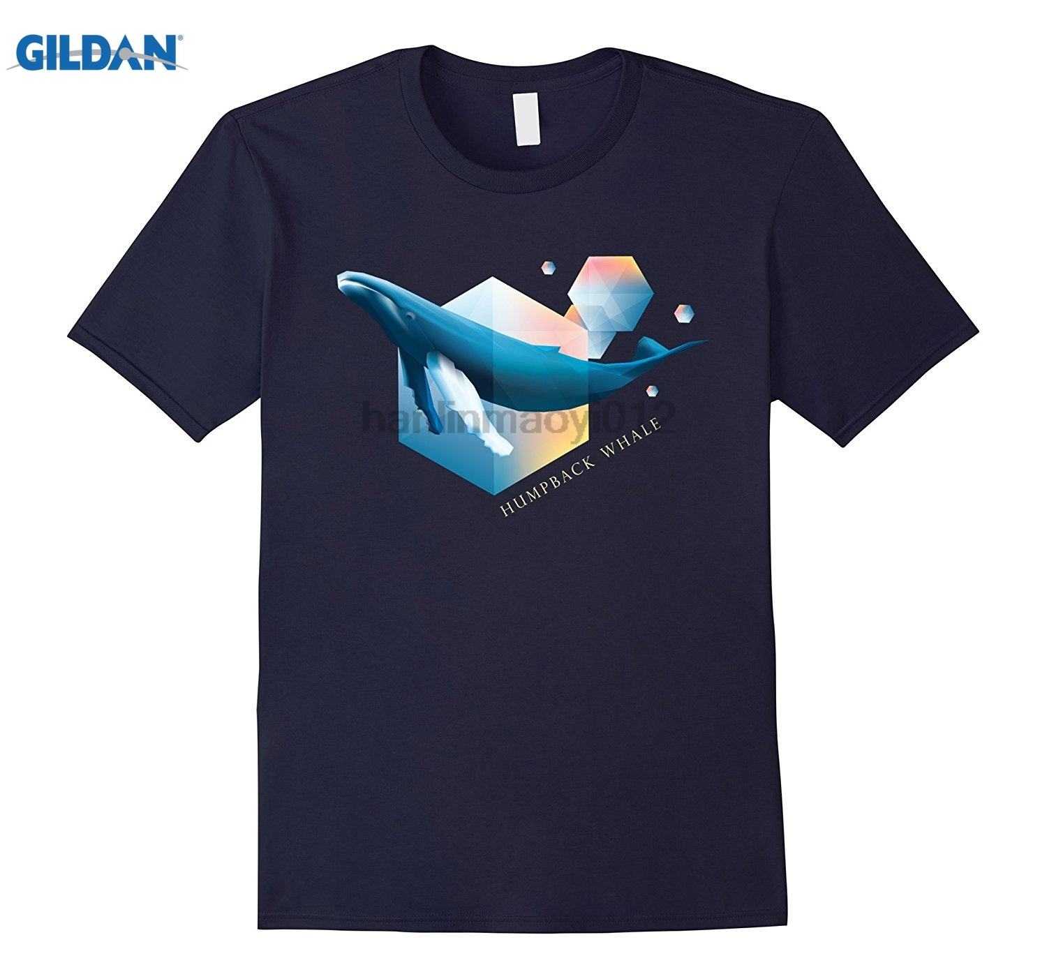 GILDAN Humpback Whale - Beautifully Styled Oceanic Mammal T-Shirts Summer Mens T Shirt glasses Womens T-shirt