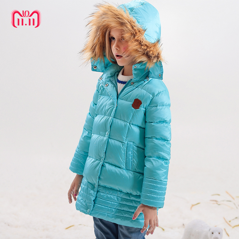 Girl Coats Winter Jackets Kids Outwear Thick Warm Down Jacket Girls Clothes Parkas Children Baby Girls Clothing 12m 6y baby girl clothes zipper winter jacket girl coats cotton padded warm kid parka thick girls jackets children down outwear