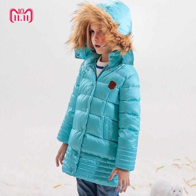 e8dd20b74 Girl Coats Winter Jackets Kids Outwear Thick Warm Down Jacket Girls ...