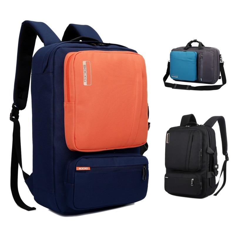 2016 Backpack Messenger Handbag For Laptop 15,15.6 ,17 inch,17.3 Notebook Bag,Packsack,Travel School Bag