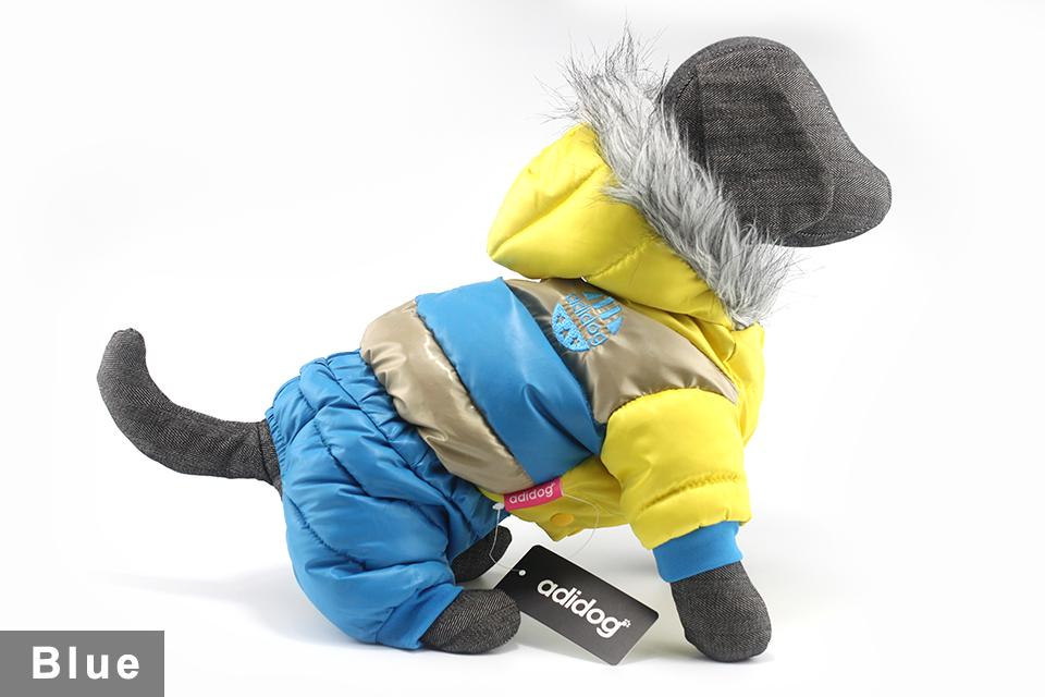 Chaqueta impermeable de invierno para perro 42