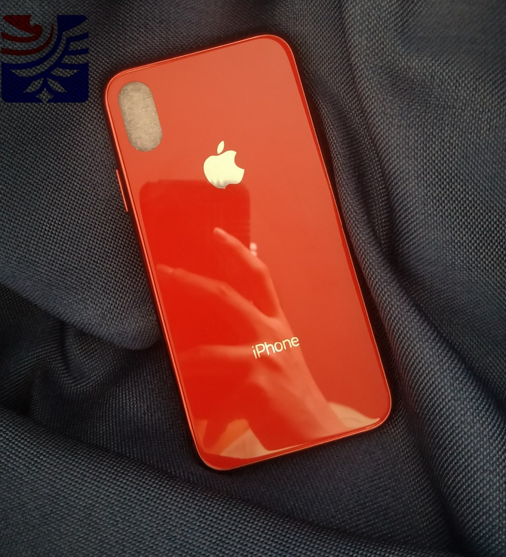 PEIPENG Luxury made of electroplated glass Anti-fall Phone Cases For iphone 6 6S 7 8 Plus X Xs Max Christmas gift Girl Simple05