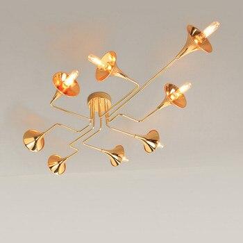 Suspension nordique abat-jour en verre transparent Suspension lampe salle à manger café Bar pendentif LED lumières Suspension Luminaire