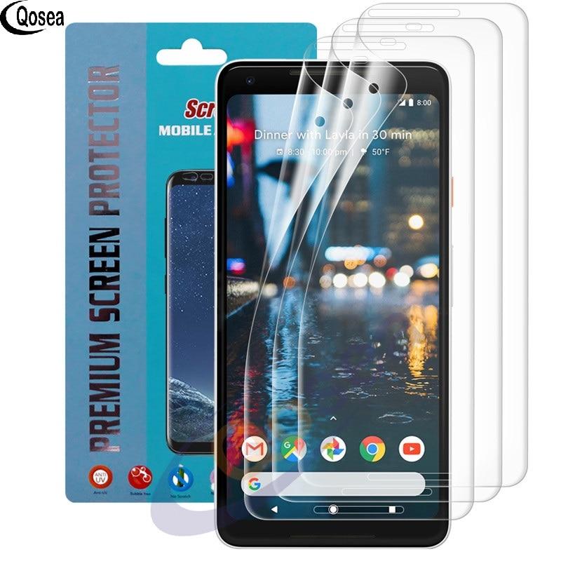 (3 PACK) pour Google pixel 2 XL Protecteur D'écran 3X Clear LCD Guard Shield Film De Couverture Peau Pour Google pixel 2 XL Explosion-preuve