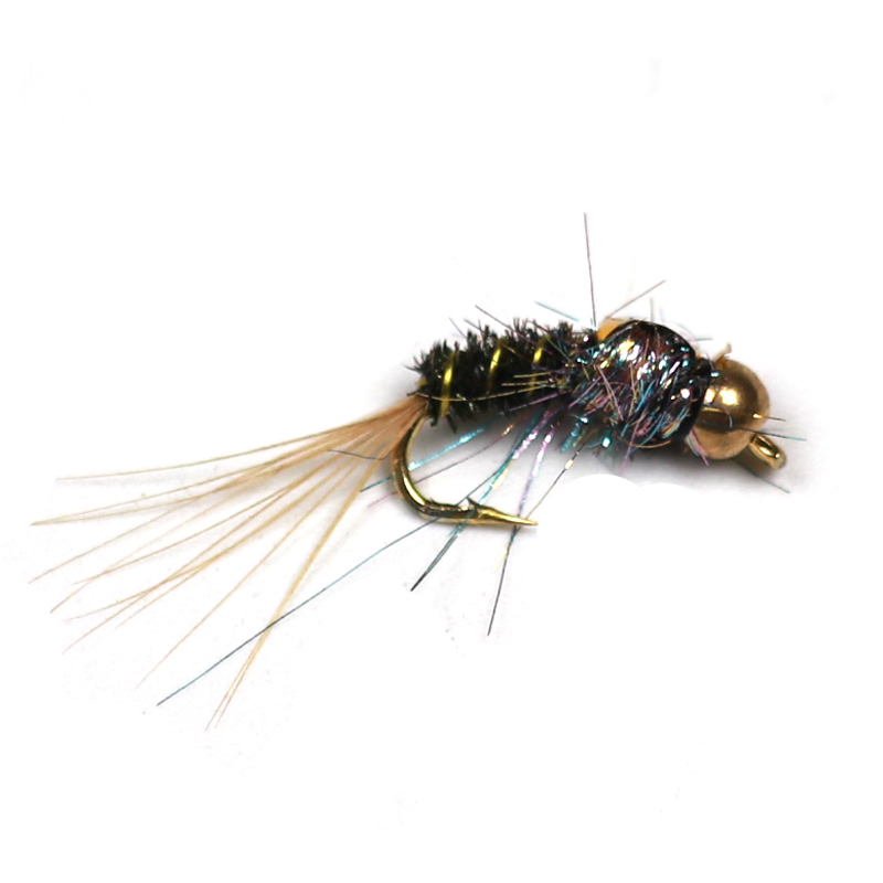 6PCS Fly Fishing Dragonfly Nymphs #8 Dry Fly Hook Trout Bass Panfish Lure Flies