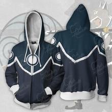 Avatar The Legend of Korra Cosplay Costume Anime Hoodie Sweatshirt Costume Jacket Coats Men Women New