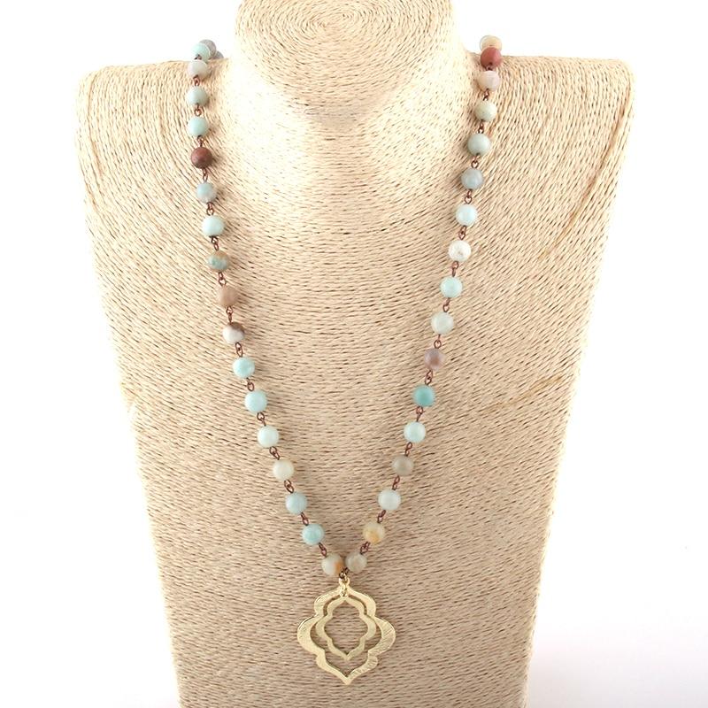 Бесплатная доставка, модное ожерелье с амазонитом, подвеска губы