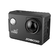 SOOCOO S100 4K Sport Camera 4K Wifi Built-in Gyro with GPS Extension(GPS Model not include)