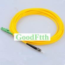 Cable de parche de fibra ST E2000/APC E2000/APC ST/UPC SM simple GoodFtth 100 500m