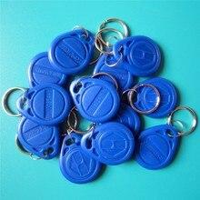 Free Shipping 10pcs/lot 125khz RFID T5577 Keyfobs Rewritable Copy Clone Key Tags Access Control Card