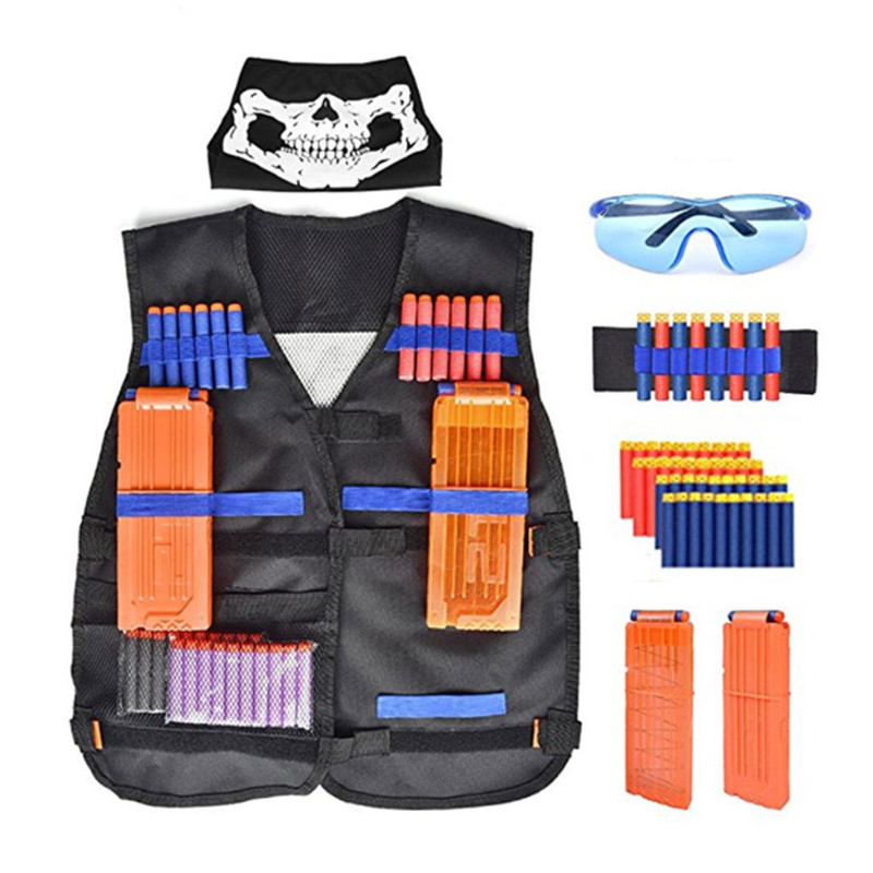 Tactical Equipment Gun Shuttle Bullet Aplicable Nerf Magazine Gun Accessories Bullet Clip Compatible Nerf Mega Nerf Accessories
