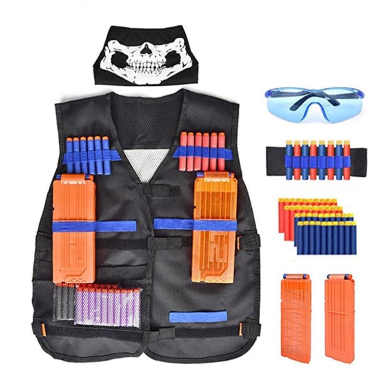 Tactical Equipment Gun Shuttle Bullet Aplicable Nerf Magazine Gun Accessories Bullet Clip Compatible Nerf Mega Nerf Accessories