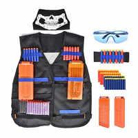 Equipo táctico lanzadera de pistola, bala Aplicable, accesorios de pistola de revistas Nerf, Clip de bala Compatible con accesorios Nerf Mega Nerf