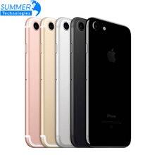 Оригинальное разблокирована Apple iPhone 7 4 ядра 2 ГБ Оперативная память 32 г 128 ГБ 256 ГБ Встроенная память IOS LTE 12.0MP Камера отпечатков пальцев Touch ID смартфон