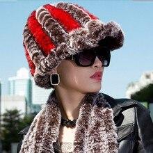 5f7ee892 2017 Rushed New Arrival Striped Adult Dl-10812 Wholesale Rex Rabbit Hair  Fur Hat Visor