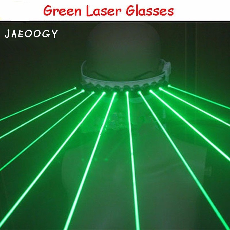 2019 New Free shipping High quality 532nm Green Laser Glasses For Pub Club DJ Shows With