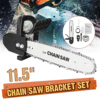 Drillpro 11.5 Inch Chainsaw Bracket Set High Carbon Steel For M10 Angle Grinder To Chain Saw Woodworking Power Tools