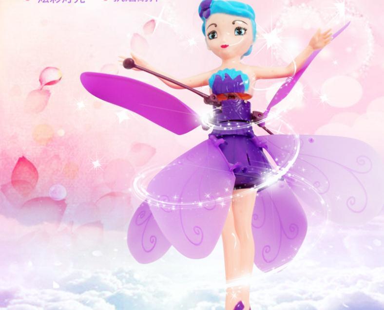 Vuelo luminosa de Control de vuelo de juguete para niños levitado luz brillante de vuelo de helicóptero de juguete