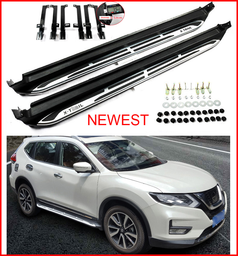 Newest Running Board Side Step Nerf Bar For Nissan X Trail
