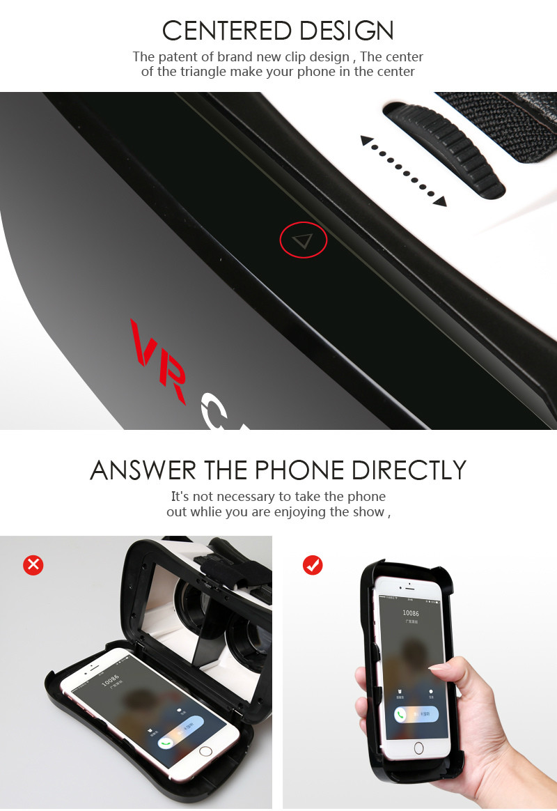 Virtual Reality Glasses VR Box Rirtual Reality Helmet Touch Function 3D Glasses VR Wearing Equipment 18
