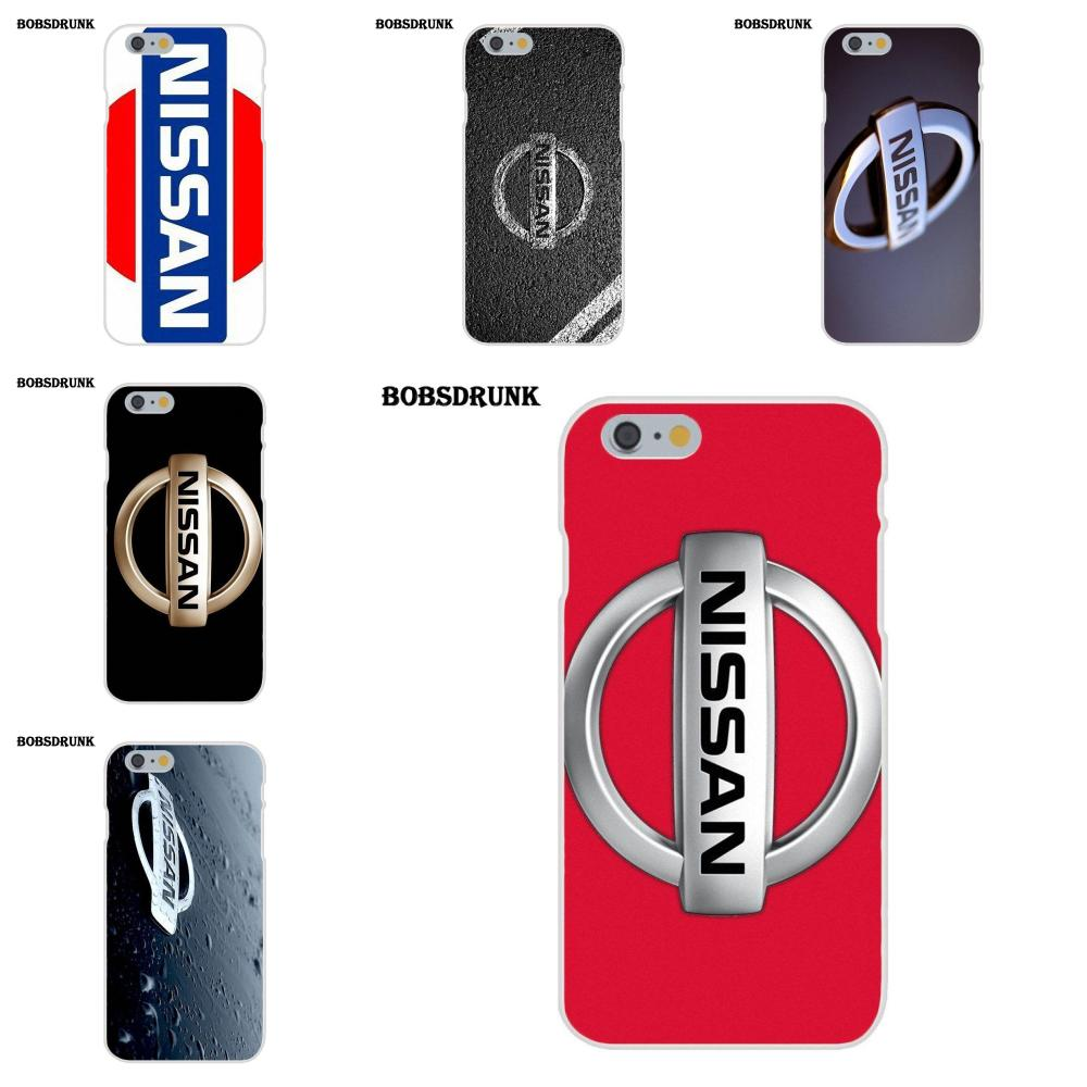 EJGROUP Weiche Mode Nissan <font><b>Logo</b></font> Für <font><b>iPhone</b></font> X 4 4 s 5 5C SE 6 6 s 7 8 Plus für Apple <font><b>iPhone</b></font> 4 4 s 5 5C SE 6 6 s 7 8 Plus X image