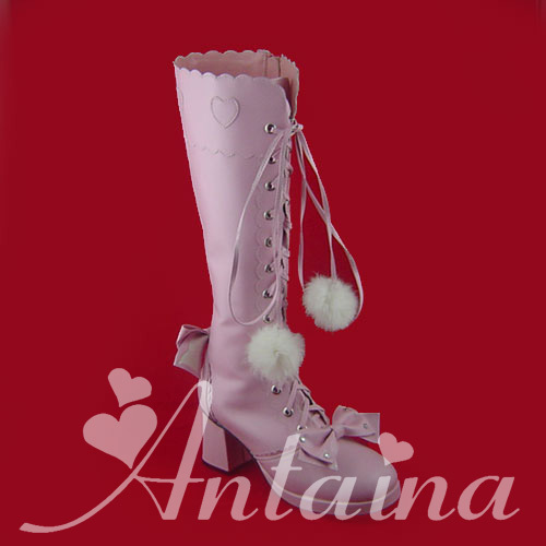 Princess sweet lolita gothic lolita boots custom lolita fashion dress high heel princess boots 9008 pink cosplay shoes fluffy synthetic lolita curly flax mixed gold long side bang capless cosplay wig for women