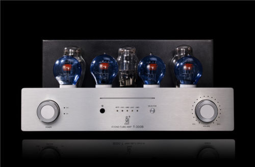 Douk Audio Hi-Fi 300B Vacuum Tube Amplifier Class A Single-ended Stereo Amp douk audio 6v6 single ended class a hifi tube stereo amplifier diy kit 1set