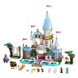 Принцесса Legoings Золушка Эльза Анна Русалка Ариэль замок строительные блоки Рисунок девушка друзья Кирпичи Игрушки