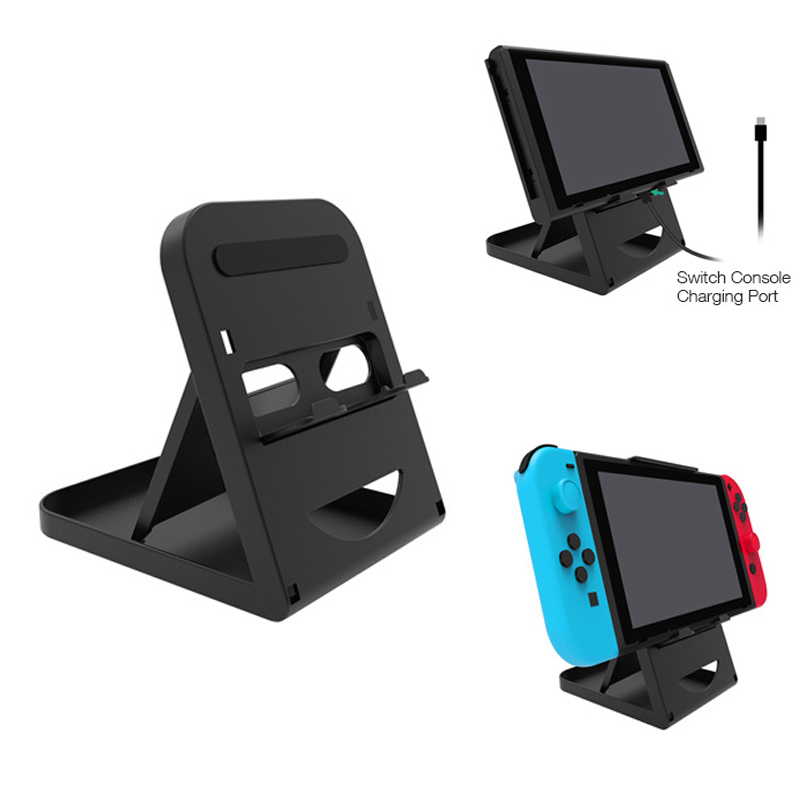 Adjustable Foldable Support Compact Bracket Playstand Folding Stand Holder For Nintend Switch Accessories NS Console Controller
