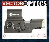 וקטור אופטיקה אומגה טקטי רפלקס 8 Reticle Red Dot Sight גבוהה End איכות ההיקף המתאים ל. 223 AR15 7.62 AK 47 12ga