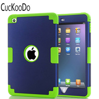 Tough Armor Metal Slate Full Body Hybrid Silicone PC 3 Layer High Impact Resistant Case