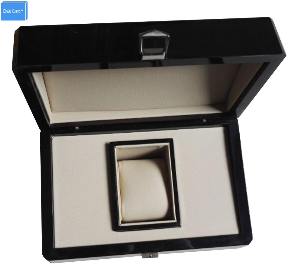 luksuslik kohandatud puidust kingituse originaalne brändi kellakast - Kellade tarvikud - Foto 1