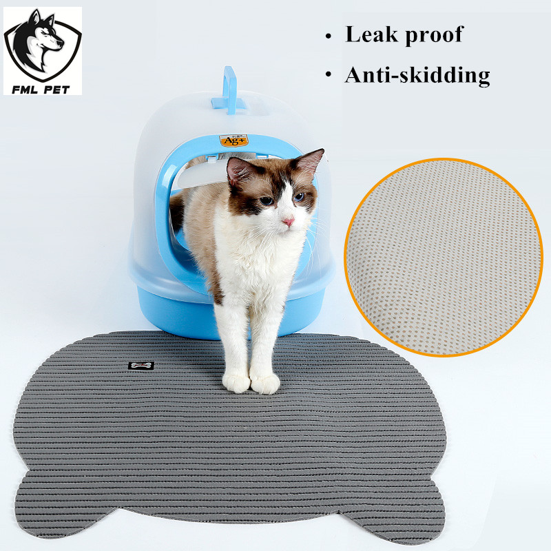 FML Pet Non Slip Large Cat Litter Box Mat For Cat Floor Mat For Pets Cats Toilet Anti Skidding Pet Food Mat 1 want to know what to do if your cat pees outside the litter box? Want To Know What to Do If Your Cat Pees Outside the Litter Box? HTB1aqrQSFXXXXaCXXXXq6xXFXXXC